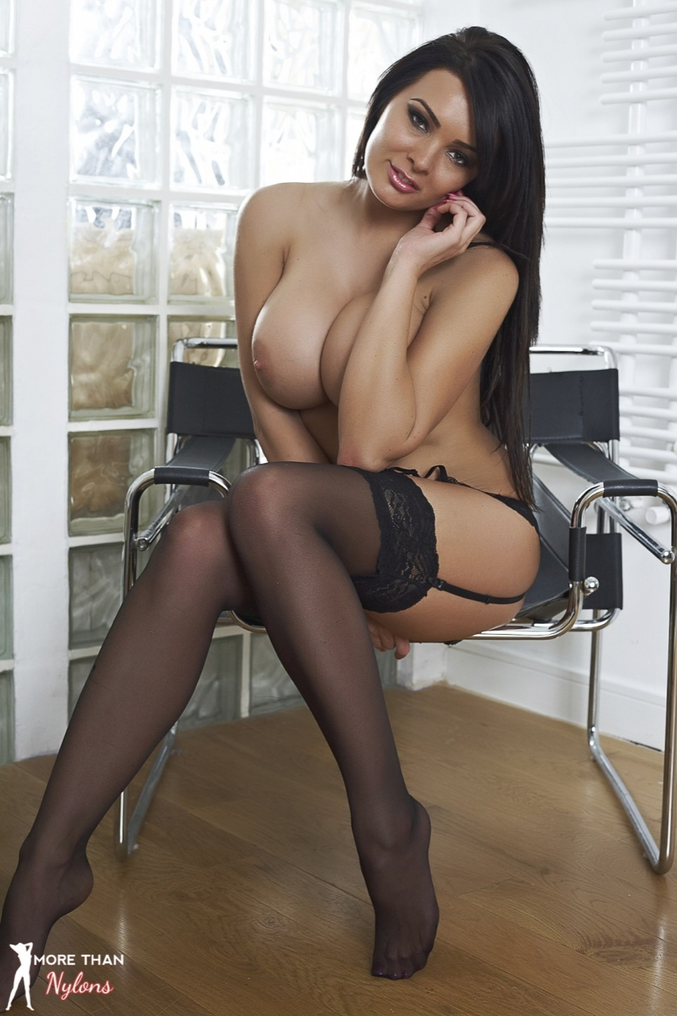 nude girl neon stockings image Sexy