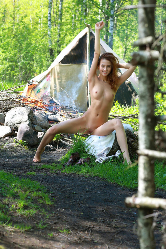 naked girl camping Archives - Nude hotties