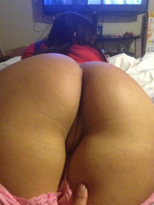 bf pulling gf panties down
