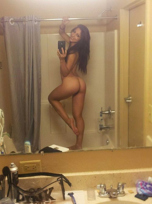 hot ass naked selfie