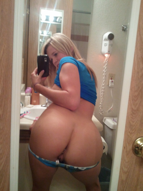 Selfie girls panties down