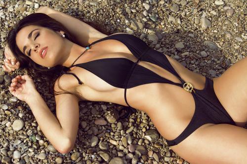 sexy girl in hot swimwear