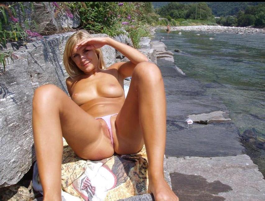 pink panties nude milf